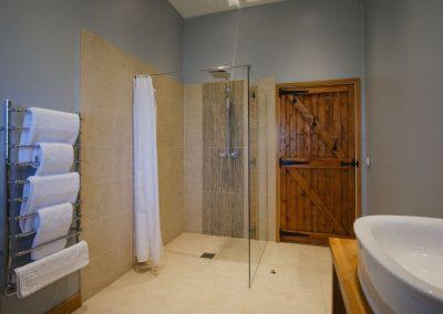 shower & towels