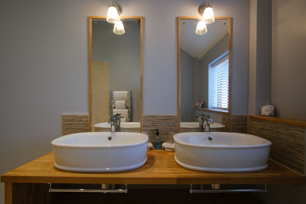his & hers wash basins