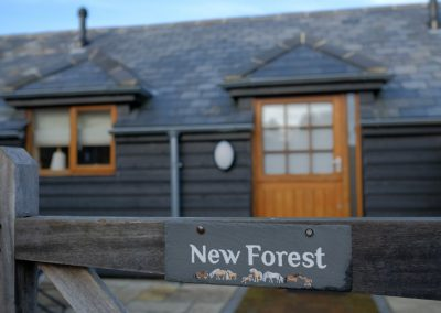 new forest cottage sign