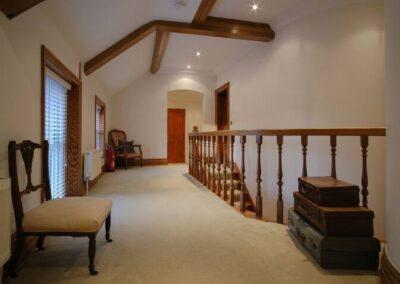 Blashford Manor House Upstairs Hallway